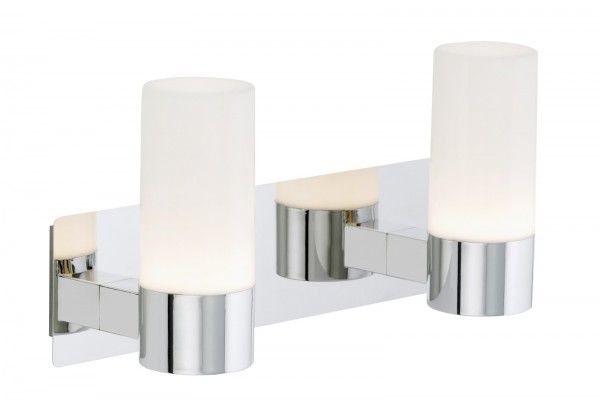 LED Spiegelleuchte Peters-Living 6470443 Badezimmerlampe Chrom IP44