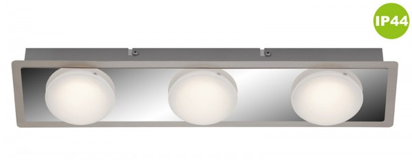 LED Deckenleuchte Peters-Living 6474267 Badezimmerlampe Chrom