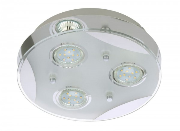LED Deckenleuchte 3x 3 Watt Briloner Flash 2 3573-038