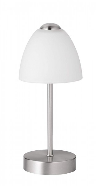 LED Tischleuchte Action by Wofi Varese 847801640000 Glasschirm